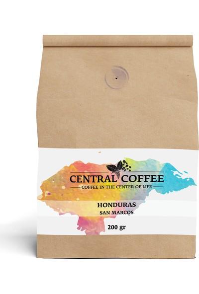 Central Coffee Honduras San Marcos 200 gr Çekirdek