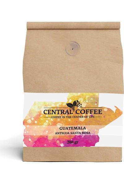 Central Coffee Guatemala Antigua 200 gr Öğütülmüş Filtre