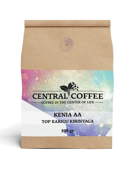 Central Coffee Kenya Aa Top Karigu Kirinyaga 500 gr Öğütülmüş Filtre