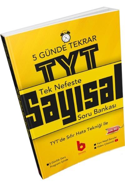 Basamak Yayınları Tek Nefeste TYT Tekrar Sayısal Soru Bankası