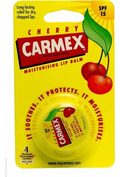 Carmex Kiraz Lip Balm SPF15 Kavanoz 7.5g