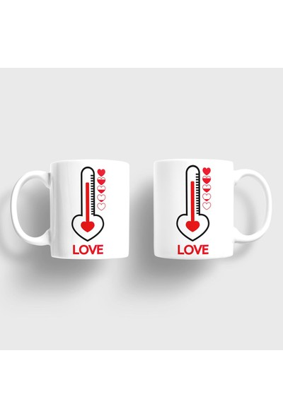 Sevgili Kupaları Aşk Derecesi Kupa Takımı