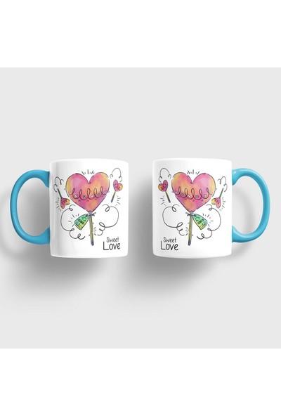 Sevgili Kupaları Sweet Love Kupa Takımı