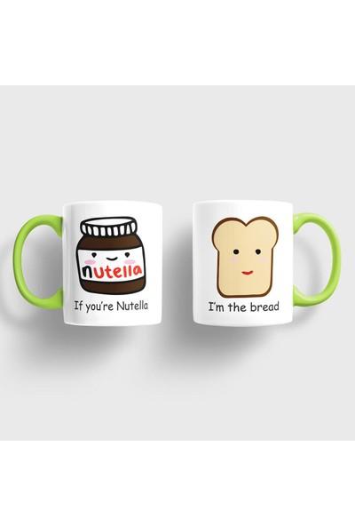 Sevgili Kupaları Nutella Bread Kupa Takımı