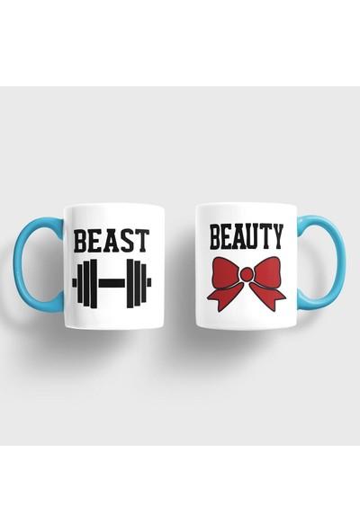 Sevgili Kupaları Beast Beauty Kupa Takımı