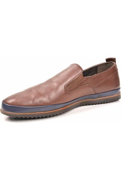 Mcp M-63154 Deri Kahve Günlük Erkek Ayakkabı