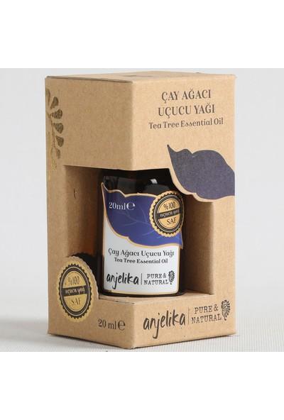 Anjelika Çay Ağacı Uçucu Yağı - %100 Saf - 20 ml