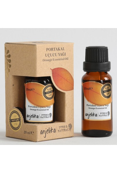 Anjelika Portakal Uçucu Yağı - %100 Saf - 20 ml