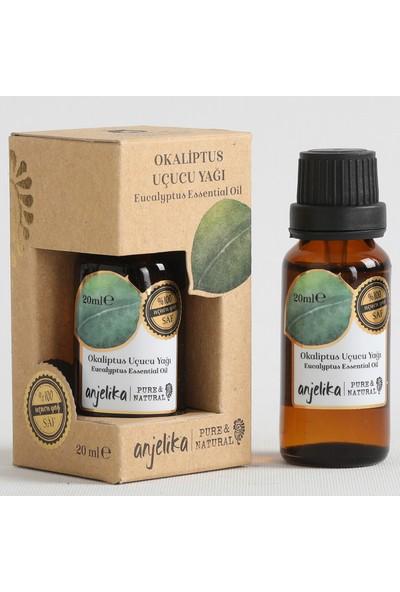 Anjelika Okaliptus Uçucu Yağı - %100 Saf - 20 ml