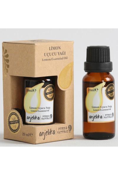 Anjelika Limon Uçucu Yağı -%100 Saf - 20 ml