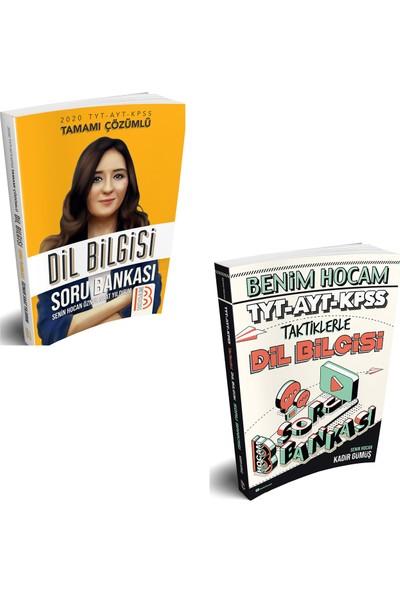 Benim Hocam Yayınları 2020 KPSS Lisans Dil Bilgisi + 2020 TYT-AYT-KPSS Taktiklerle Dil Bilgisi Soru Bankası Seti