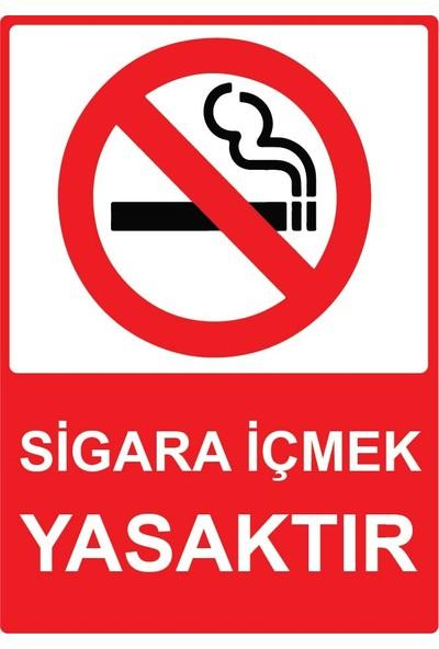3Ekip Sigara İçmek Yasaktır Uyarı Levhası