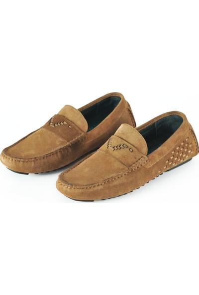 J Club Deri Loafer Camel Erkek Ayakkabı