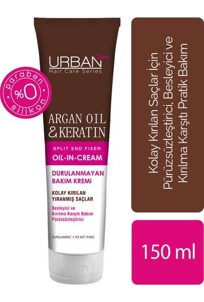 URBAN Care Argan Oil & Keratin Durulanmayan Bakım Kremi 150 ml