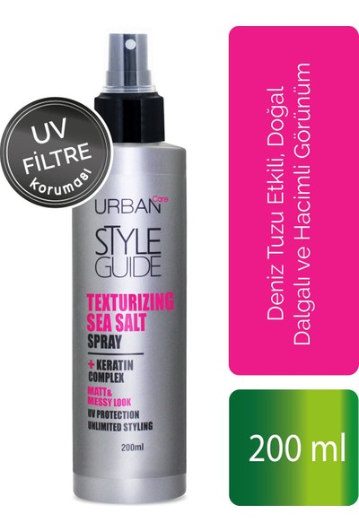 URBAN Care Style Guide Sea Salt Spray 200 ml
