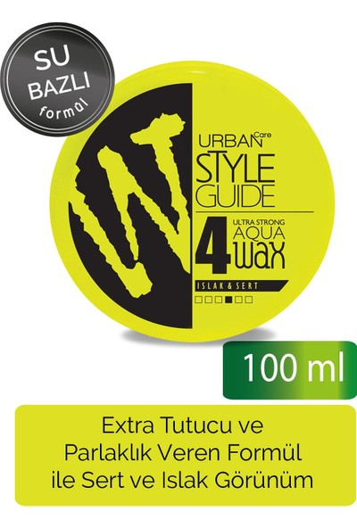 URBAN Care Style Guide Ultra Strong Aqua Wax 100 ml