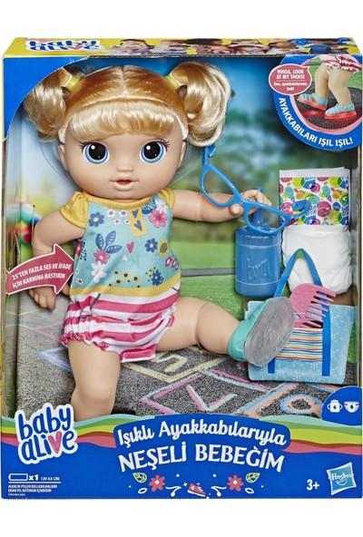 Baby Alive Işıklı Ayakkabılarıyla Neşeli Bebeğim