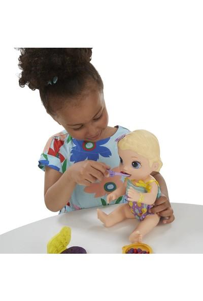 Baby Alive Lily ile Mama Eğlencesi - Sarışın