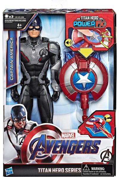 Avengers: Endgame Titan Hero Power FX Captain America Figür
