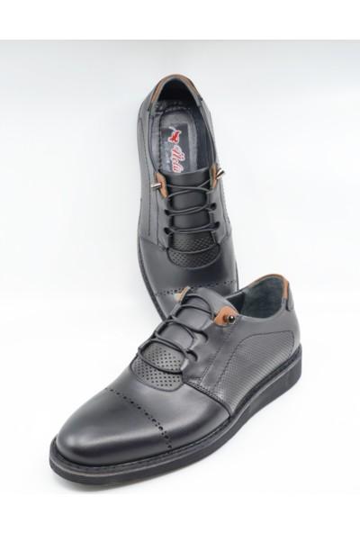 Üçlü Deri Erkek Günlük Ayakkabı