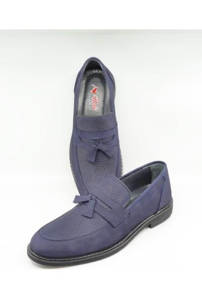 Üçlü Deri Erkek Klasik Ayakkabı