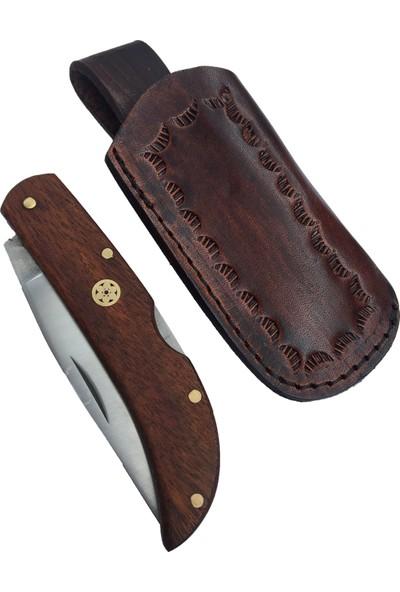 Akın Bıçak El Yapımı Kilitli Çakı BB160