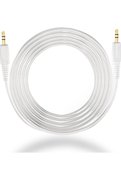 Elektrogun Aux Kablo - Beyaz - 3m