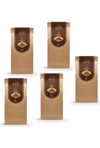 Elit Çikolata Toz Kakao 200 gr x 5'li Set