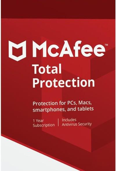 Mcafee Total Security 2020 - 1 Yıl Sınırsız Kullanıcı