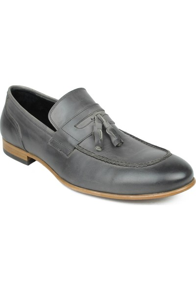 CZ London Erkek Püsküllü Loafer Klasik Ayakkabı