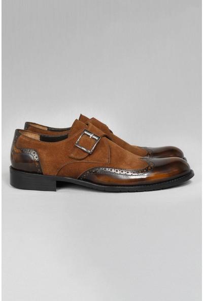 CZ London Erkek Klasik Ayakkabı Tek Tokalı Oxford