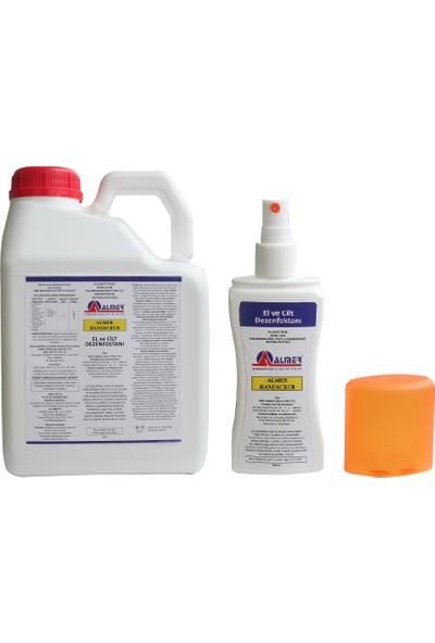 Almer Handscrub El Ve Cilt Dezenfektanı 5 Litre - %80 Alkol Bazlı + 100 Ml Hediyeli