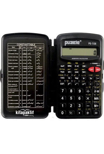 Puzzle PS-108 Mini Hesap Makinası