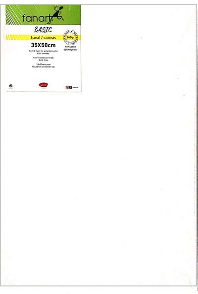 Fanart Basic Çerçeveli Tuval 160 gr 35 x 50 cm