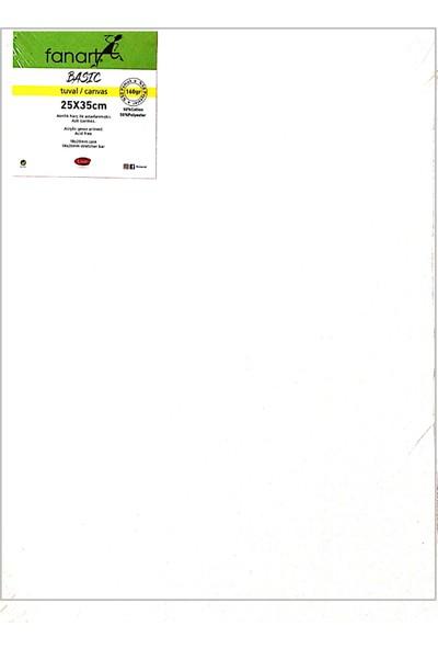Fanart Basic Çerçeveli Tuval 160 gr 25 x 35 cm