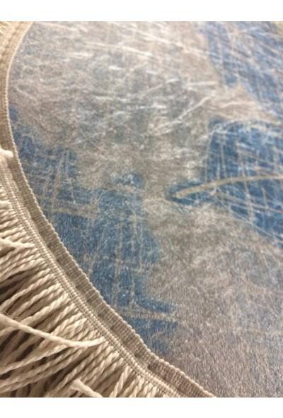 Seroni Home Textile Sempati Çınar Yaprağı Ince Saçaklı 50x80 Paspas