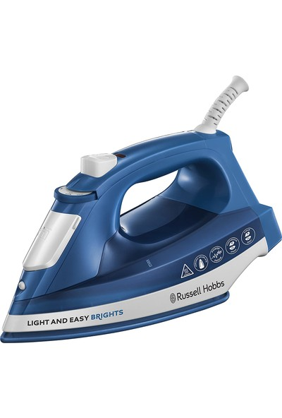 Russell Hobbs 24830-56 Light & Easy Brights Ütü - Mavi