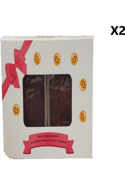 Glutensiz Neka Cevizli Tarçınlı Glutensiz Muffin 2'li x 250 gr