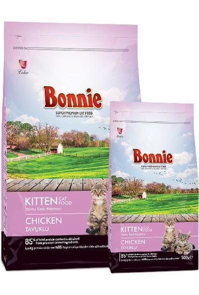 Bonnie Tavuklu Yavru Kedi Maması 500GR