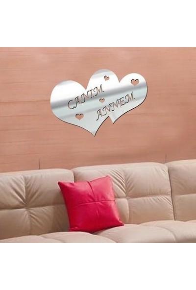 Ferman Hediyelik Kişiye Özel İsimli Kalp Ayna