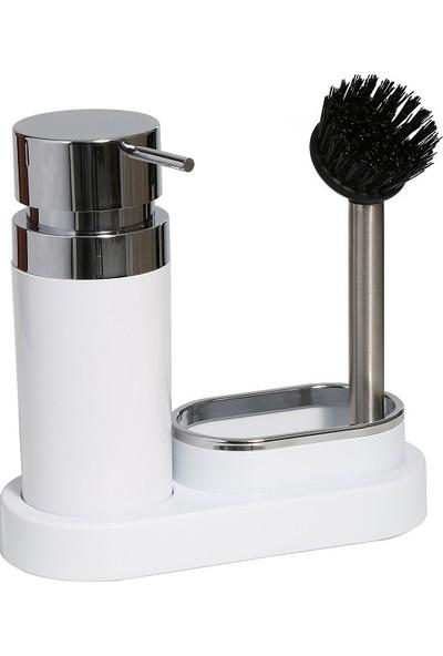 Primanova Polen Mutfak Sıvı Sabunluk -Beyaz