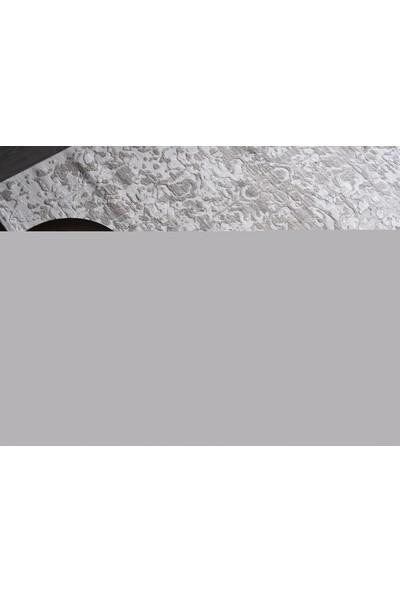 Gümüşsuyu Motto 7649 G20 Gri Mavi Makina Halısı 80 x 150