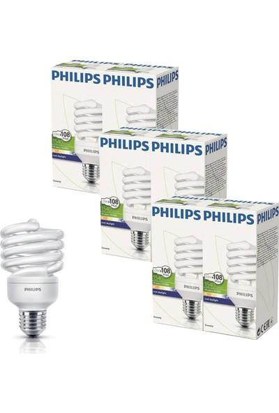 Philips Economy Twister Tasarruflu E27 Beyaz Işık 23 W 10'lu