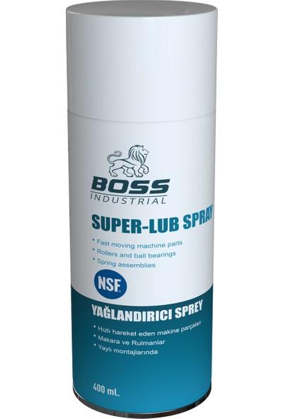 Boss Yağlandırıcı Sprey - Gıda Onaylı (Nsf)