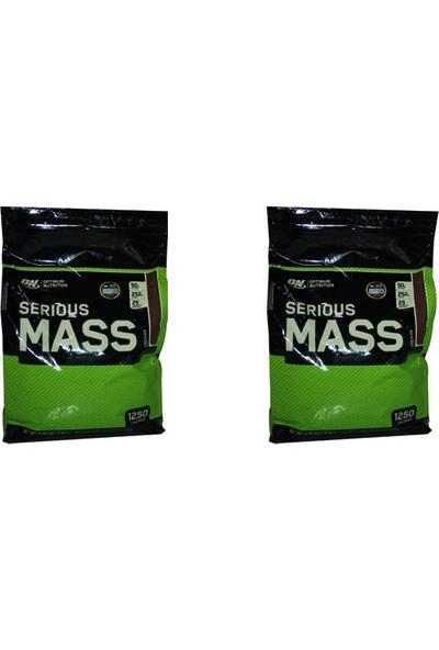 Optimum Nutrition Serious Mass - Çikolata 12LB Multi-Lingual 5,450 gr x 2 Kutu