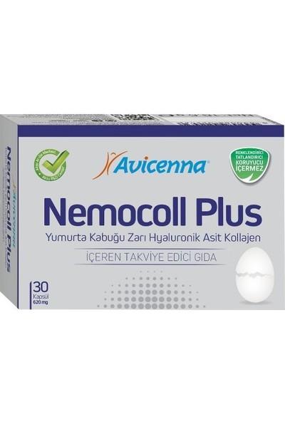 Avicenna Nemocoll Plus Yumurta Kabuğu Zarı Hyaluronik Asit Kollajen 30 Kapsül
