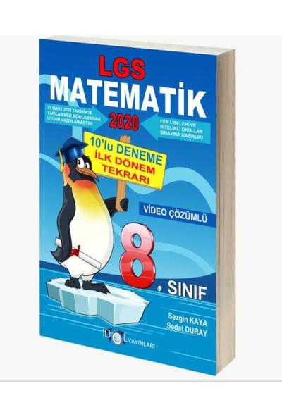 İdol Yayınları LGS Matematik 10'lu Deneme İlk Dönem Tekrarı