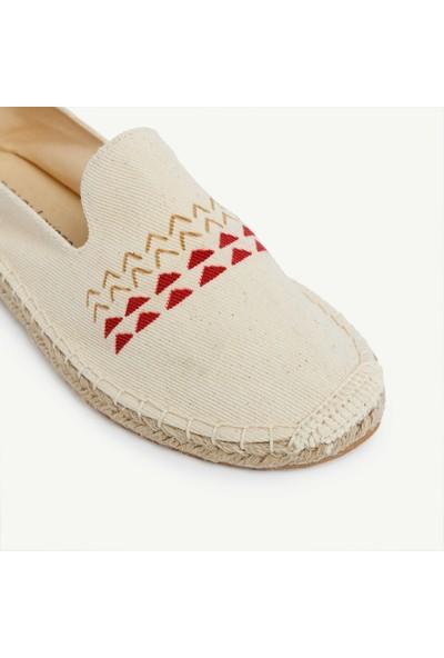 Yargıcı Espadril Ayakkabı