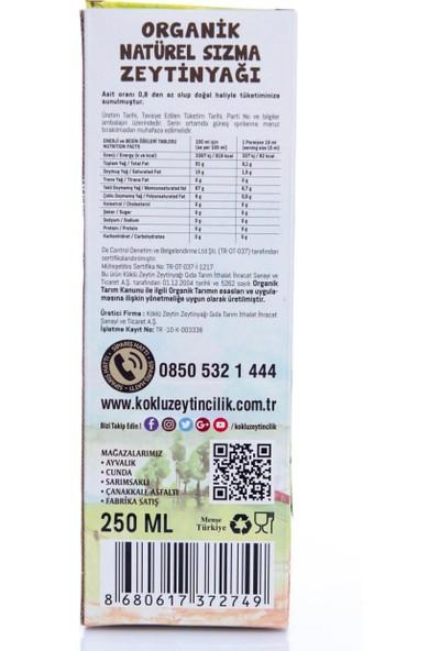 Köklü Zeytincilik Sızma Zeytinyağı 250 ml