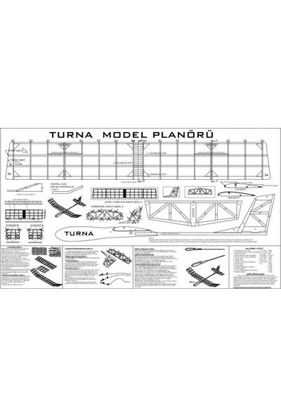 Hobi Modelci Planör Maket Uçak Turna